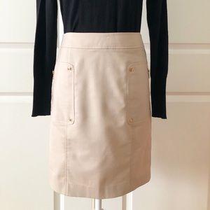 Calvin Klein Khaki Pencil Skirt/Size 6